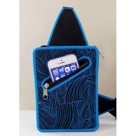 TDZ195 - Waves Pouch Small