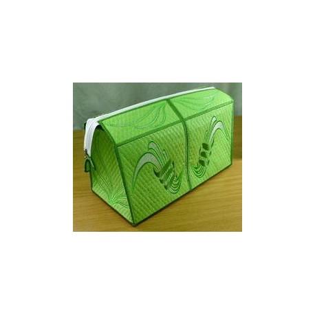 TDZ049 - Shades of Green Toiletry Bag