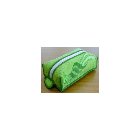 TDZ050 - Shades of Green Makeup Bag
