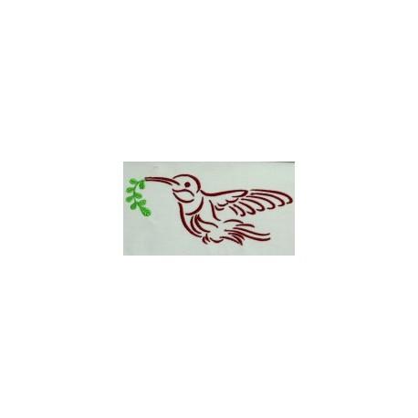 TDZ064 - Hummingbirds in Flight