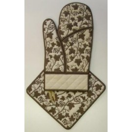 TDZ088 - Vine Oven Glove & Hot Pad