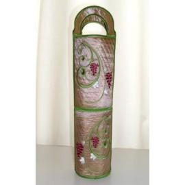 TDZ089 - Floral Vine Wine Bag