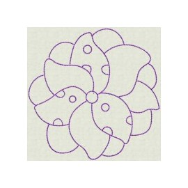 TDZ095 - Spring Flowers Backstitch