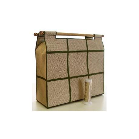 TDZ100 - Wicker Knitting Bag