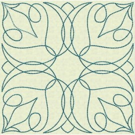 TDZ107 - Quilt Blocks 01 Backstitch 5x5