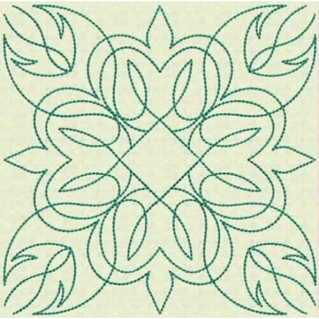 TDZ108 - Quilt Blocks 01 Backstitch 6x6