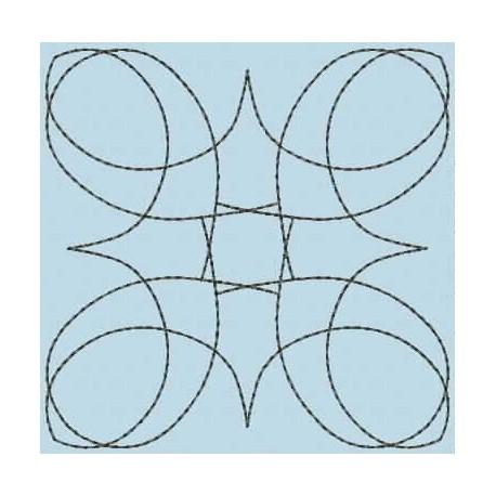 TDZ111 - Quilt Blocks 01 Triple Run 4x4