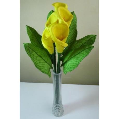 TDZ126 - 3D Yellow Calla Lily