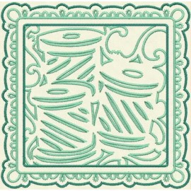 TDZ159 - Sewing Stencils Quilt Blocks Stemstitch 6x6
