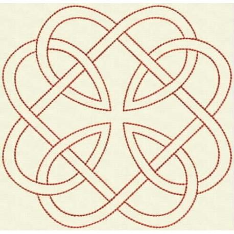 TDZ160 - Celtic Knots Backstitch 4x4