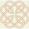 TDZ160 - Celtic Knots Backstitch 4x4