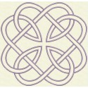 TDZ161 - Celtic Knots Satin Stitch 4x4