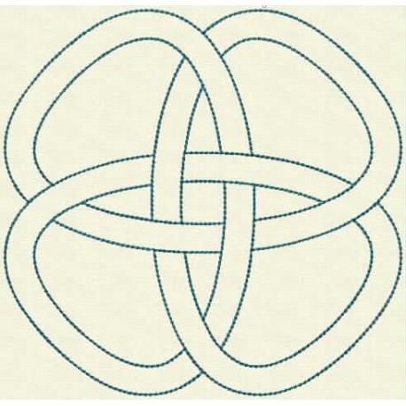 TDZ162 - Celtic Knots Backstitch 5x5