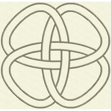 TDZ163 - Celtic Knots Satin Stitch 5x5