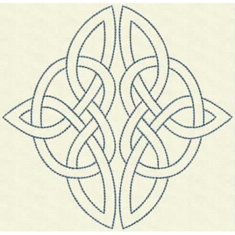 TDZ164 - Celtic Knots Backstitch 6x6