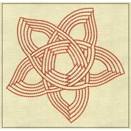 TDZ167 - Aura Lines Backstitch 4x4