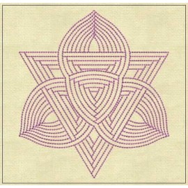 TDZ168 - Aura Lines Backstitch 5x5