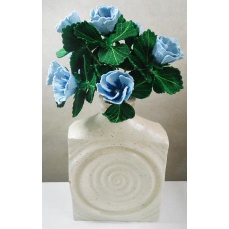 TDZ173 - 3D Aqua FSL Flower