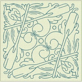 TDZ178 - Nautical Lines 6x6 Backstitch